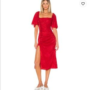 Song of style midi dress